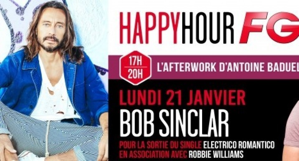 Bob Sinclar in collaboration with Robbie Williams