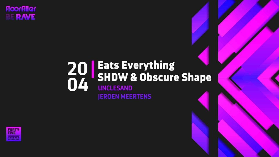 Be Rave & Floorfiller present Eats Everything