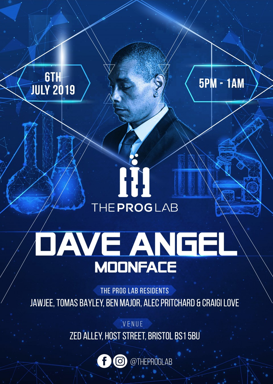 The Prog Lab Presents Dave Angel