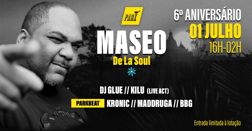 Hiphop OG DJ Maseo Available for Europe Gigs