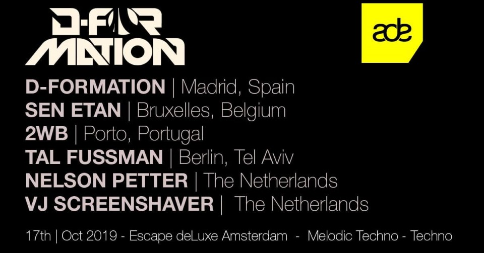 D-Formation at ADE 2019